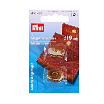 Fermoir magnétique 19 mm Prym Or