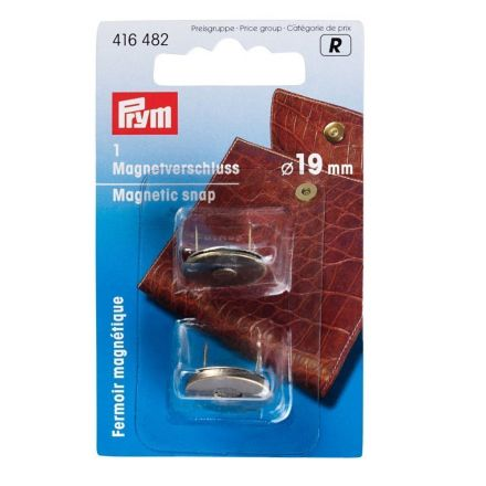 Fermoir magnétique 19 mm Prym Laiton antique