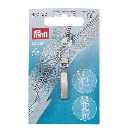 Tirette pour fermeture éclair Prym Fashion Classic Argent