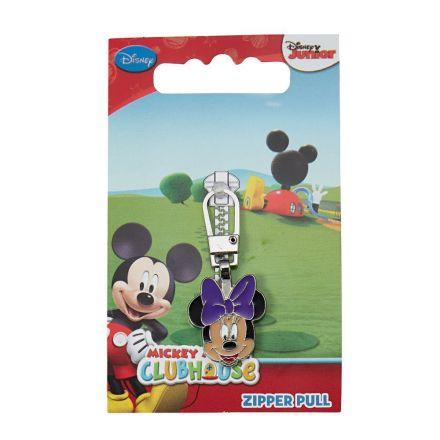 Tirette pour fermeture éclair Prym Disney Minnie Mouse tête