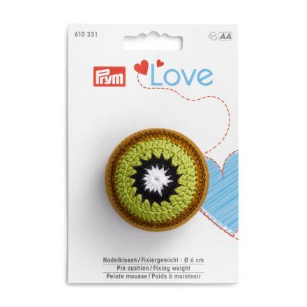 Poids à maintenir Prym Love avec pelote mousse - Kiwi
