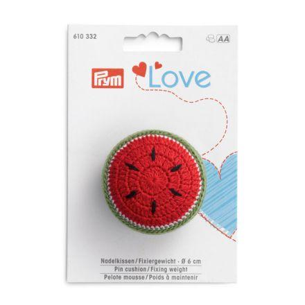Poids à maintenir Prym Love avec pelote mousse - Pastèque