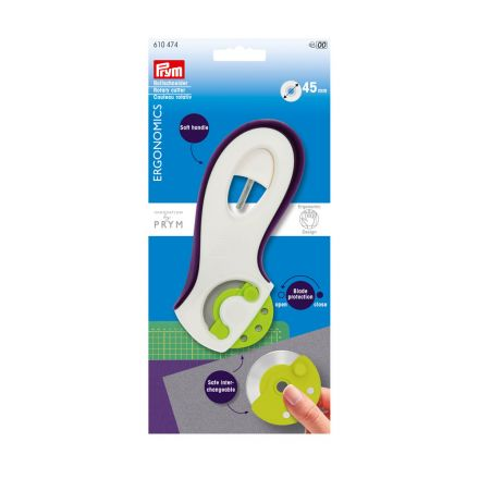 Cutter rotatif Prym ergonomics 45 mm