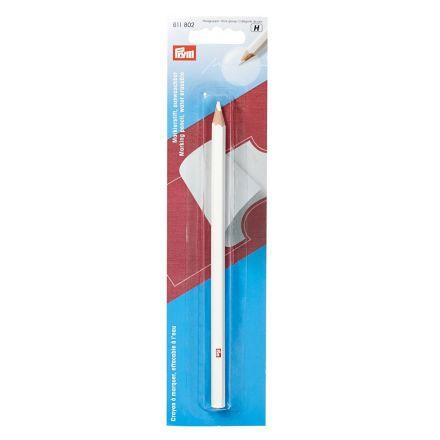 Crayon à marquer effaçable à l'eau Prym Blanc