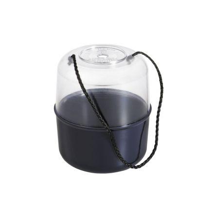 Boîte à pelote avec couvercle transparent plastique Prym Violet foncé