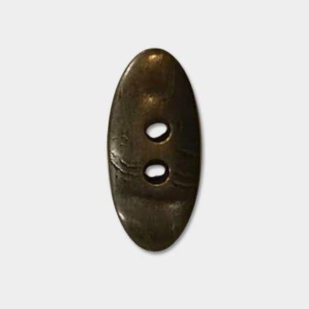 Bouton effet bronze 2 trous 50 mm