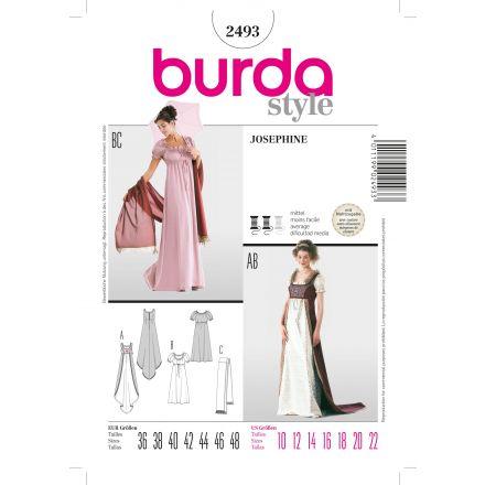 Patron Burda 2493 Robe