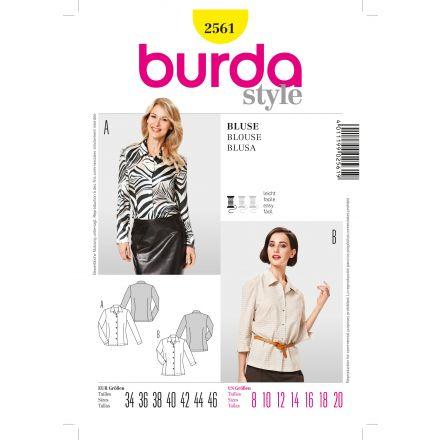 Patron Burda 2561 Chemise