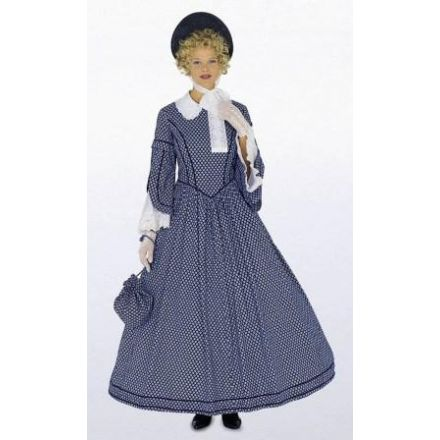 Patron Burda 2768 Robe année 1848