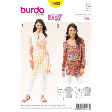 Patron Burda 6683 Tunique