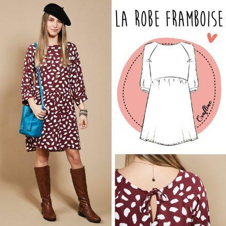 Patron Craftine Robe Framboise