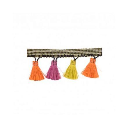 Galon Flochettes Multicolores x1m
