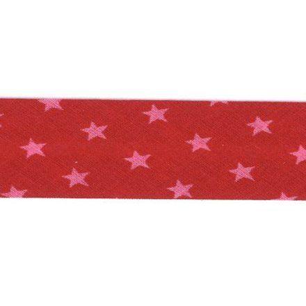 Biais étoiles Frou-Frou Rouge