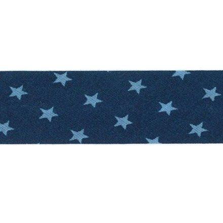 Biais étoiles Frou-Frou Bleu nuit