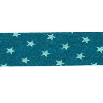 Biais étoiles Frou-Frou Turquoise