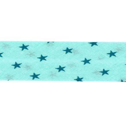 Biais étoiles Frou-Frou Bleu vert