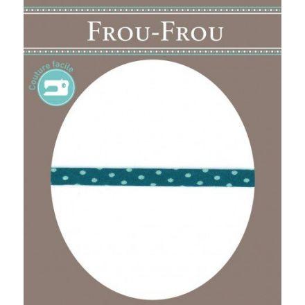 Cordon pois spaghetti Frou-Frou Turquoise