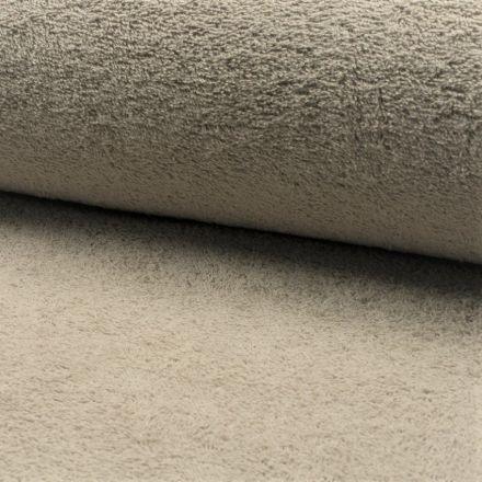 Tissu Eponge légère 320 g/m² Taupe - Par 10 cm