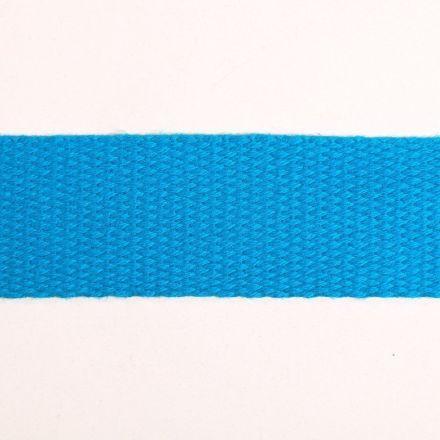 Sangle Coton 30 mm Bleu Turquoise x1m