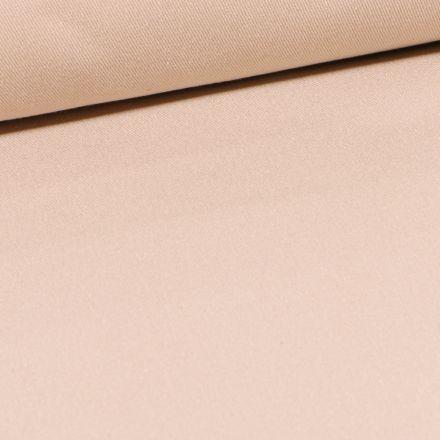 Tissu Coton Sergé d'ameublement uni Taupe - Par 10 cm