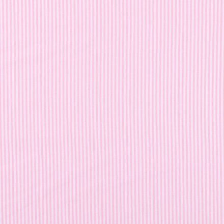 Tissu Vichy Rayures Rose pâle x10cm