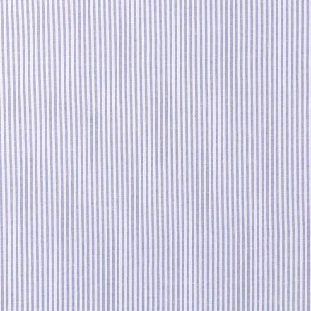 Tissu Vichy Rayures Bleues - Par 10 cm
