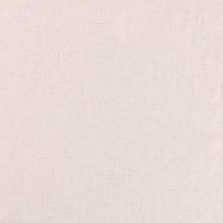 Tissu Lin Viscose uni Ecru chiné - Par 10 cm