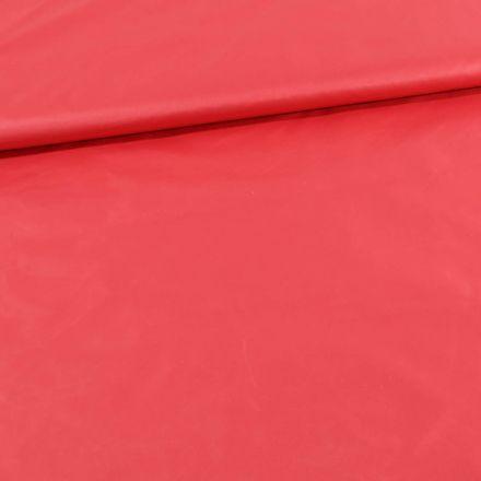Tissu Déperlant k-way Rose corail - Par 10 cm