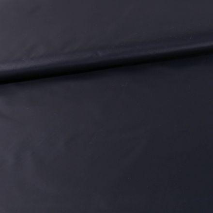 Tissu Déperlant k-way  Bleu marine - Par 10 cm