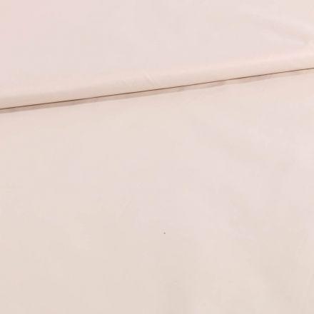 Tissu Déperlant k-way Ecru - Par 10 cm