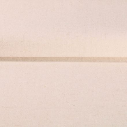 Tissu Lin lavé Viscose uni Ecru - Par 10 cm