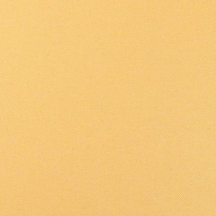 Tissu Toile Polycoton Côtelé Jaune et blanc - Par 10 cm