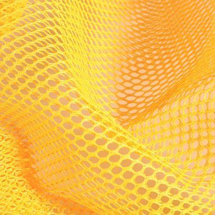 Tissu Filet Vrac mesh Jaune - Par 10 cm