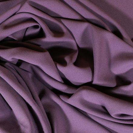 Tissu Crêpe Georgette Mauve x10cm