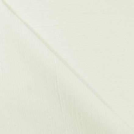 Tissu Crépon Ivoire x10cm