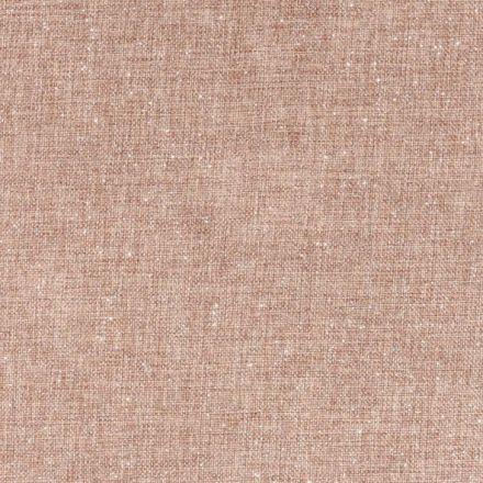 Tissu Toile de jute Scintillante argentée sur fond Naturel - Par 10 cm