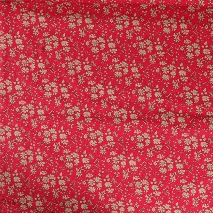 Tissu Liberty of London Capel Rouge - Par 10 cm