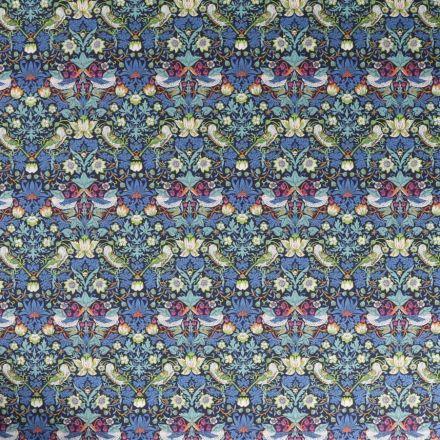 Tissu Liberty of London Strawberry Bleu - Par 10 cm