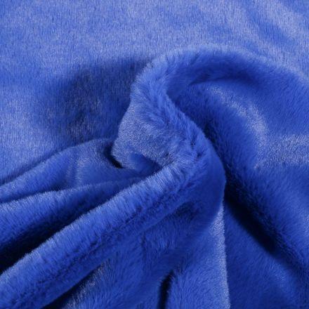 Tissu Fausse fourrure Bear Ultra douce Bleu roi - Par 10 cm