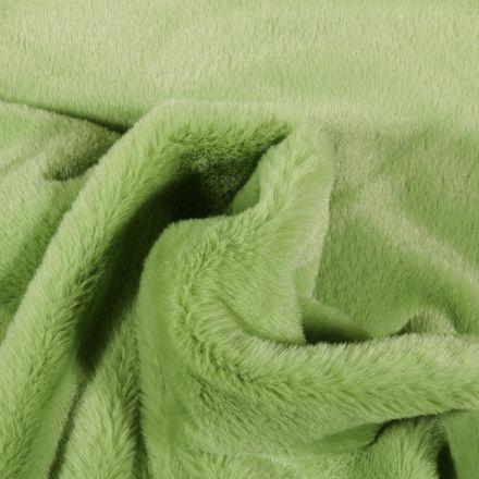 Tissu Fausse fourrure Bear Ultra douce Vert - Par 10 cm