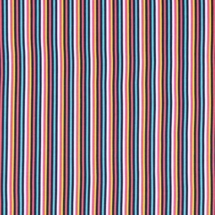 Tissu Jersey Coton Tutti frutti N°2  - Par 10 cm