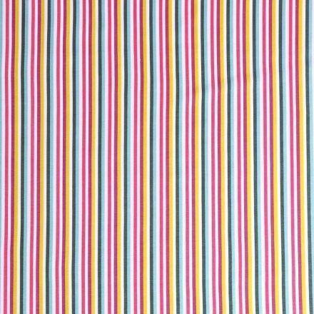 Tissu Jersey Coton Tutti frutti N°3  - Par 10 cm