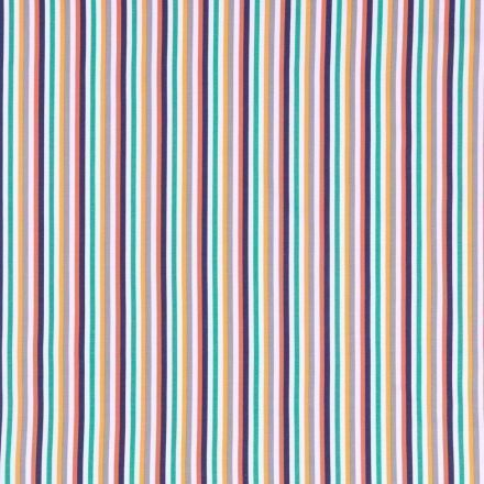 Tissu Jersey Coton Tutti frutti N°1  - Par 10 cm