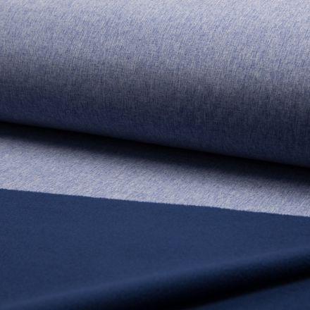 Tissu Softshell envers polaire Bleu - Par 10 cm