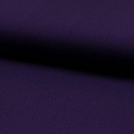 Tissu Viscose Twill uni Violet - Par 10 cm
