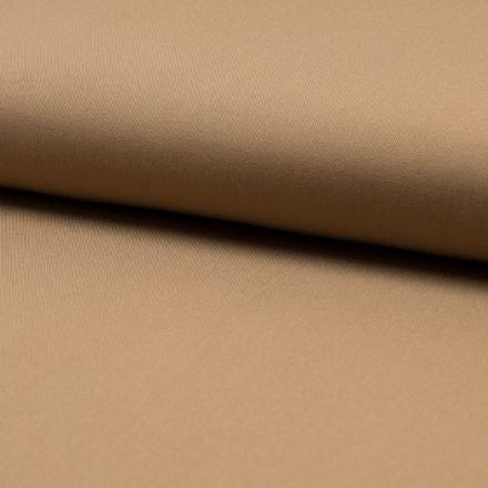 Tissu Viscose Twill uni Camel - Par 10 cm
