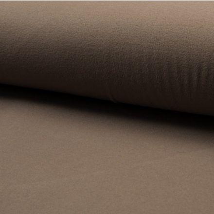 Tissu Drap de manteau Taupe - Par 10 cm