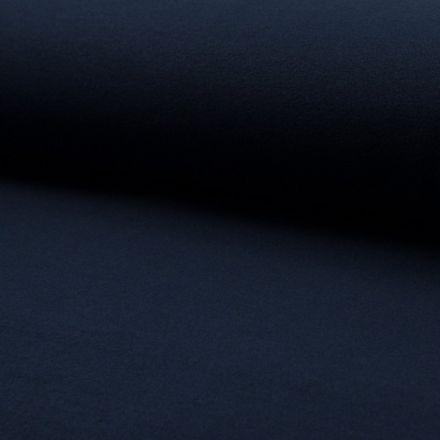 Tissu Drap de manteau Bleu Marine - Par 10 cm