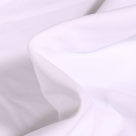 Tissu Lycra léger Travel uni Blanc