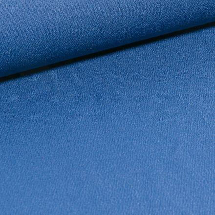 Tissu Jersey crêpe uni Bleu